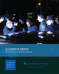 Human rights watch report cover july 2014