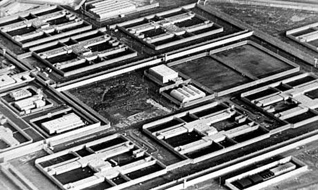 The Maze prison in Northern Ireland