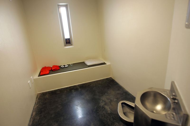 high security cell in Guantanamo camp 5