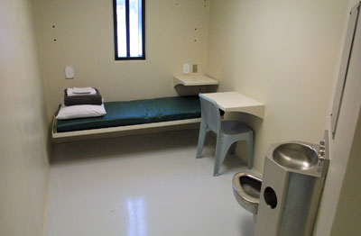 prison isolation cell