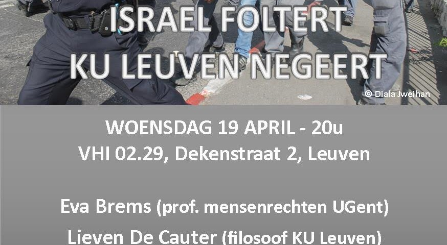 Israel interrogation in Belgium