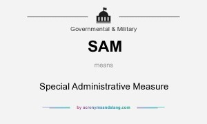 SAM meaning - what does SAM stand for?