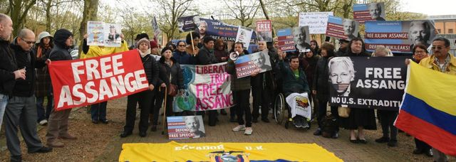 UK Assange Belmarsh two