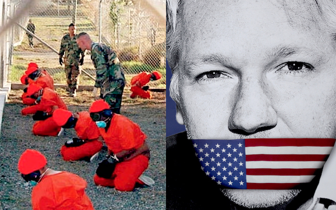 UK guantanamo-assange